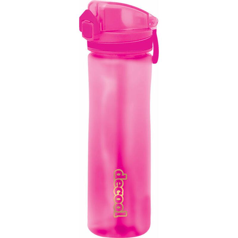 Kulacs műanyag 520ml DeCool Pink