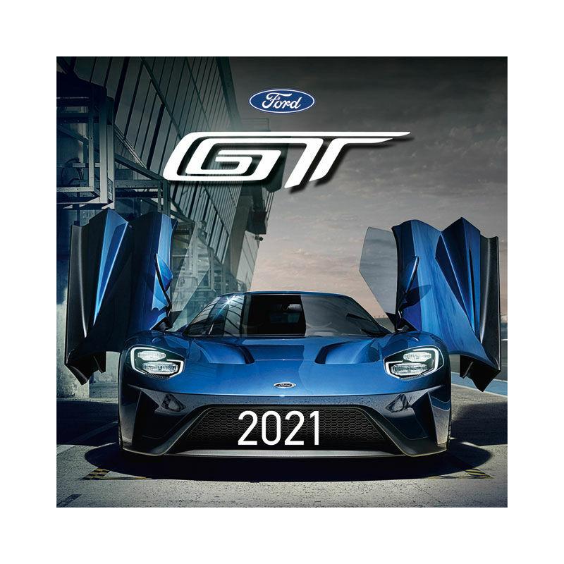 Falinaptár lemez közepes 2021 Ford GT