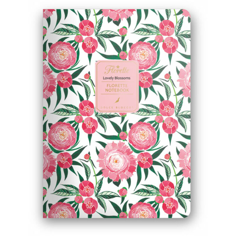Florette Notebook A5 Dolce Blocco Lovely Blossoms