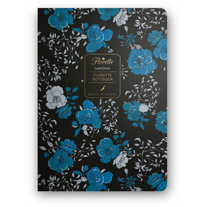 Florette Notebook A5 Dolce Blocco Luna D´oro