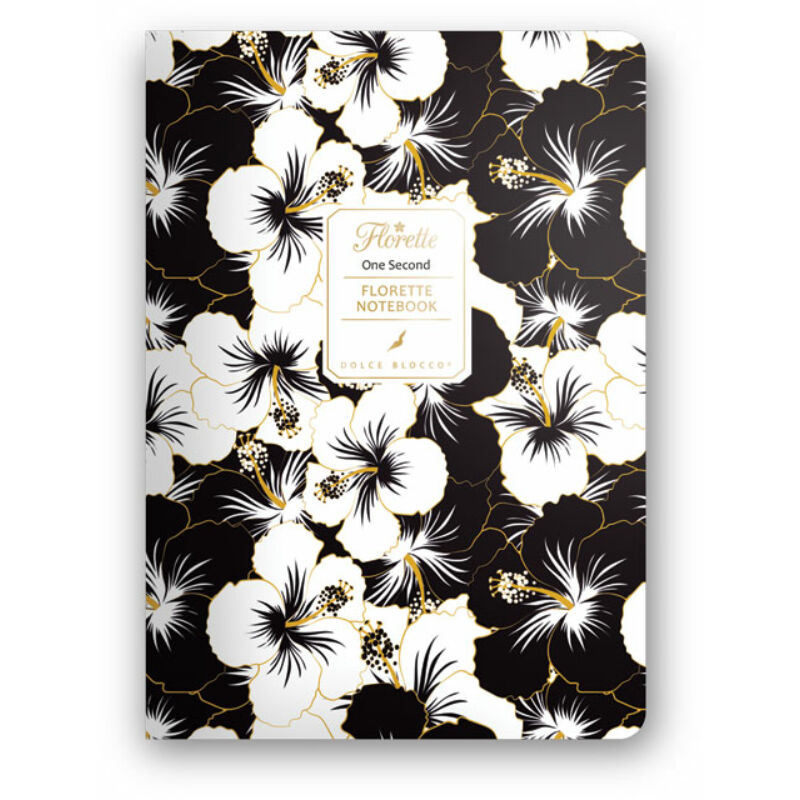 Florette Notebook A5 Dolce Blocco One Second