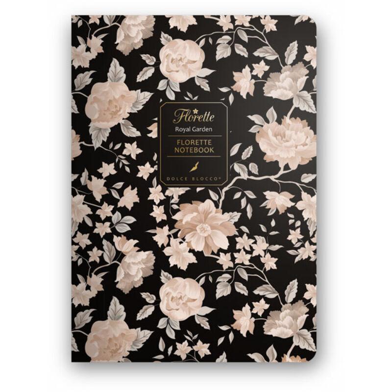 Florette Notebook A5 Dolce Blocco Royal Garden