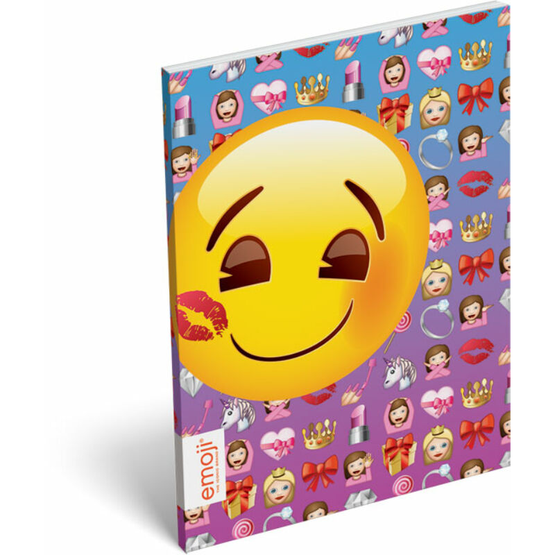 Papírfedeles notesz A/7 Emoji Girls