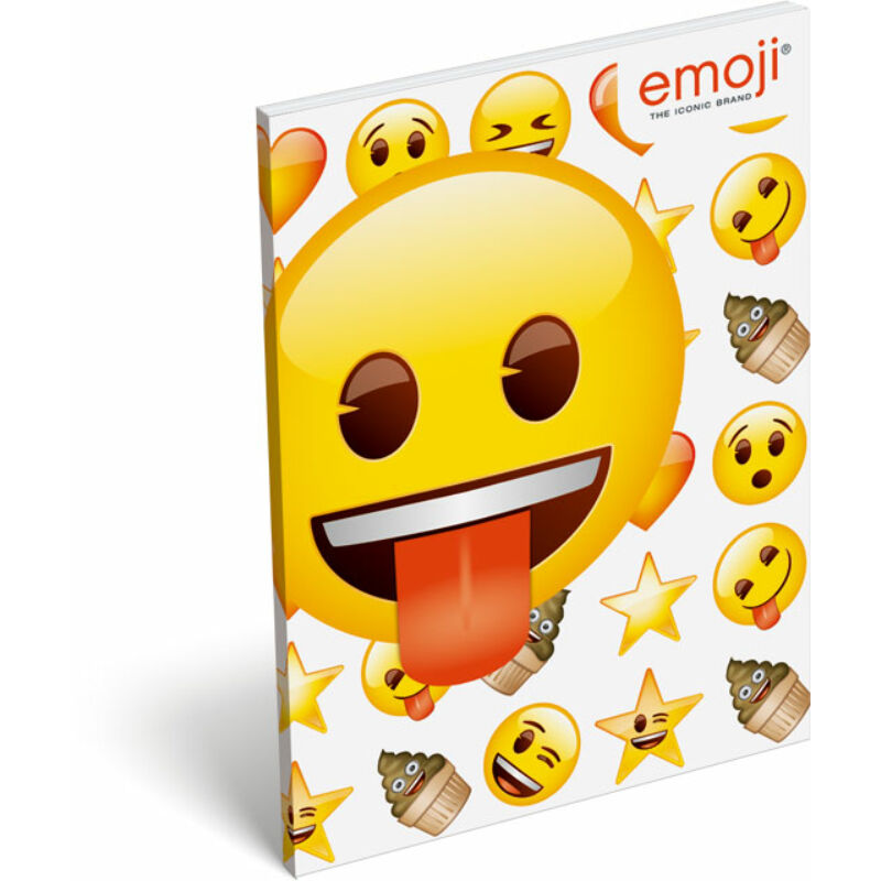 Papírfedeles notesz A7 emoji Ice Cream