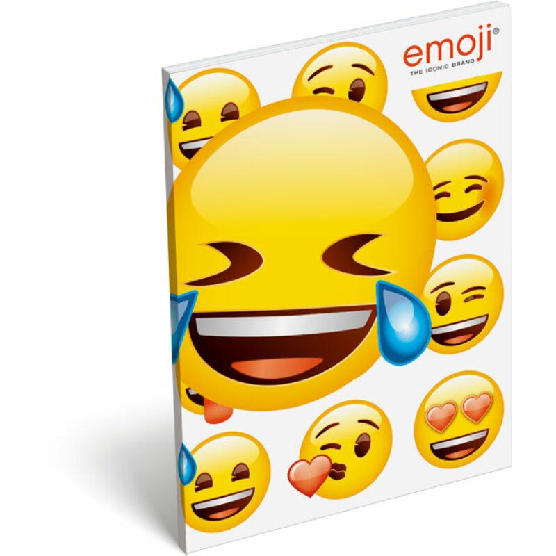 Papírfedeles notesz A7 emoji LOL