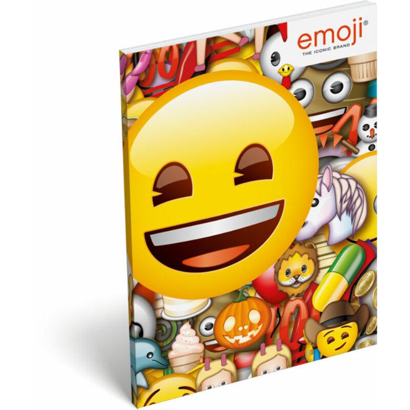 Papírfedeles notesz A7 emoji Smile