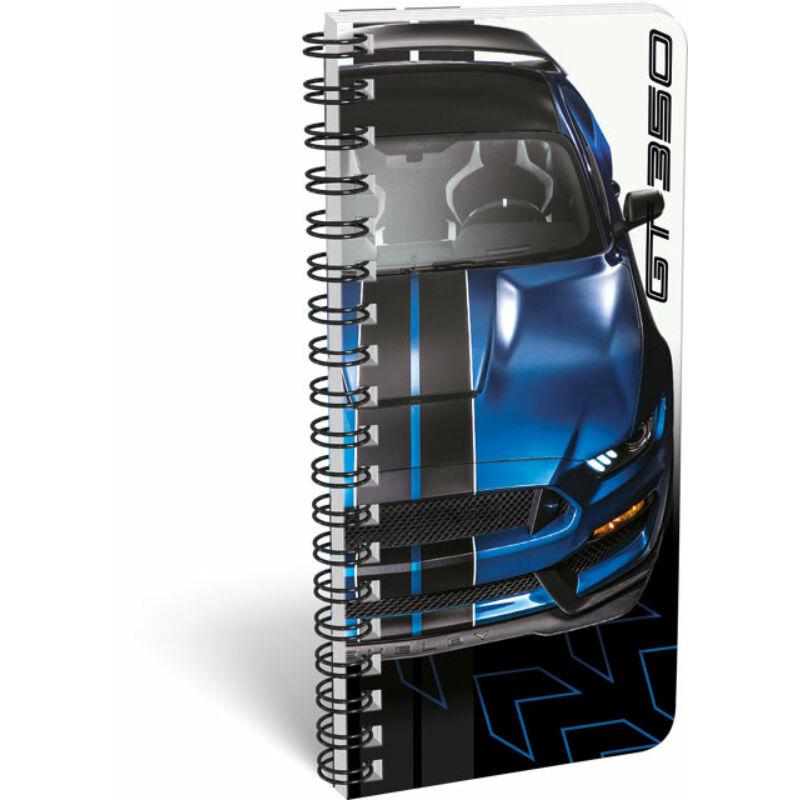 Füzet spirál szótár exkluzív Ford Mustang Blue