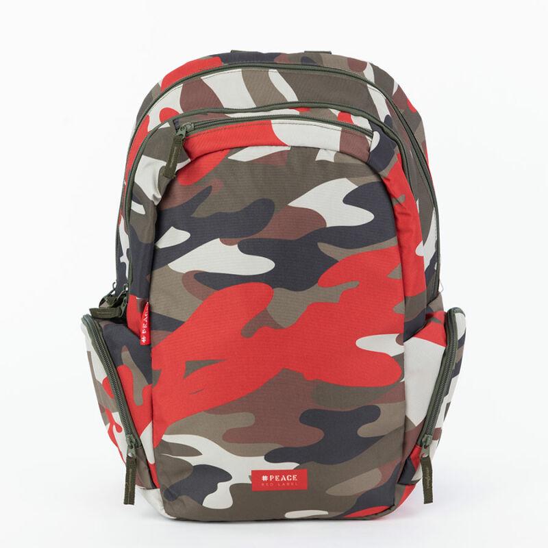 Iskolatáska Teen+ #peace Red Label
