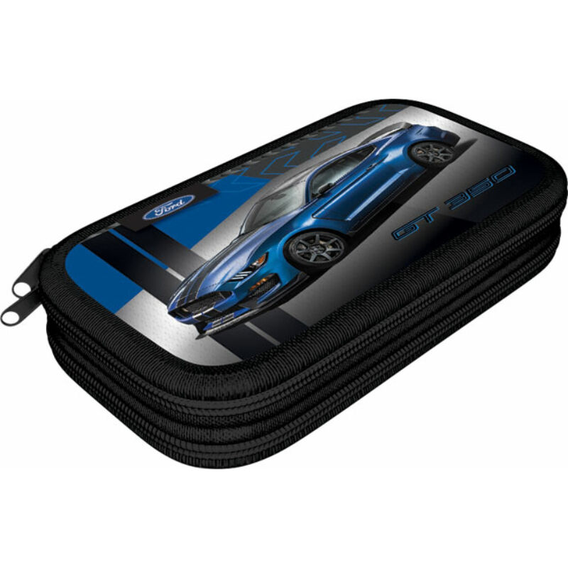 Tolltartó 2 emeletes textil Ford Mustang Blue