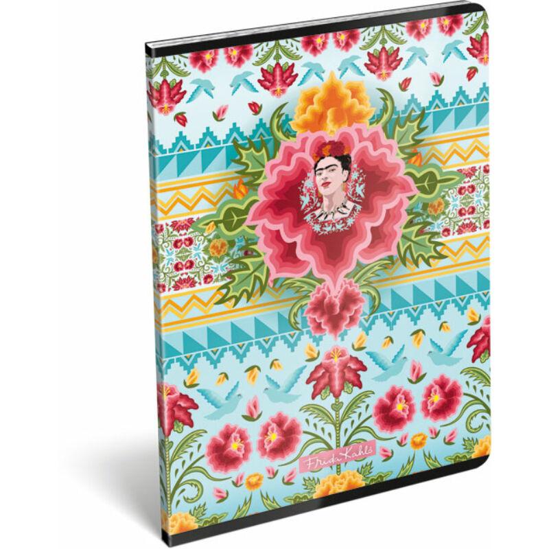 Füzet tűzött A/4 vonalas 81-32 Frida Kahlo Cielo Azul