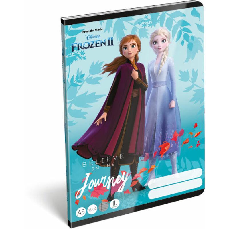 Füzet tűzött A/5 2.o. 16-32 Frozen 2 Believe