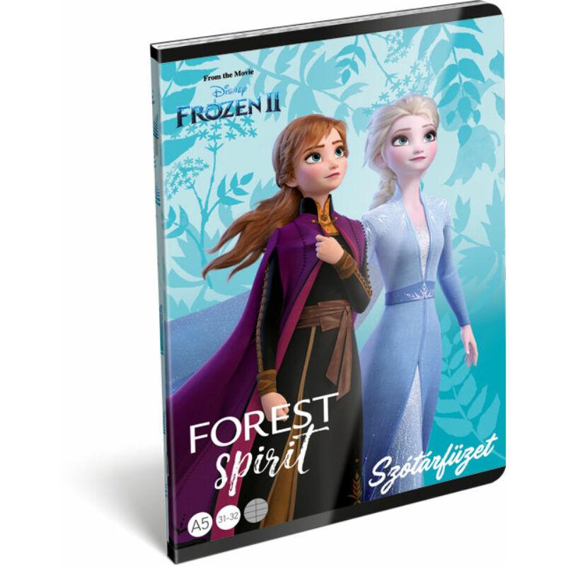 Füzet tűzött A/5 szótár 31-32 Frozen 2 Believe