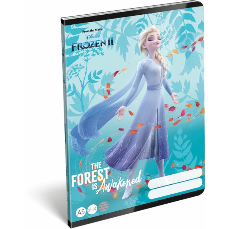Füzet tűzött A/5 vonalas 21-32 Frozen 2 Believe